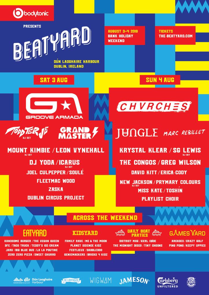 Beatyard 2019 poster