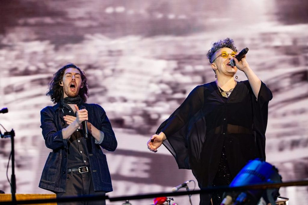 Hozier & Jess Kav at Electric Picnic